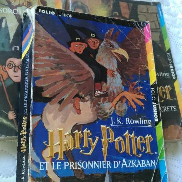 Harry Potter et le Prisonnier d'Azkaban, édition Gallimard Jeunesse