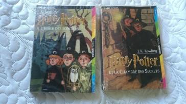 Harry Potter à l'école des sorciers, Harry Potter et la Chambre des Secrets, édition Gallimard Jeunesse